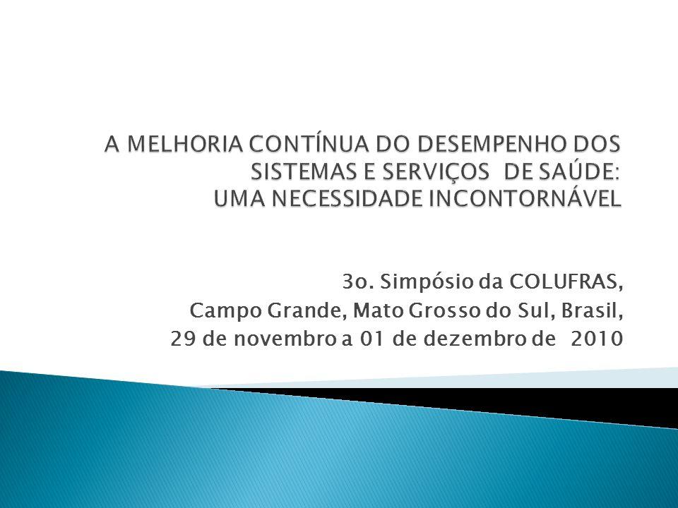 3o. Simpósio da COLUFRAS, Campo Grande, Mato Grosso do Sul, Brasil, 29 de novembro a 01 de dezembro de 2010
