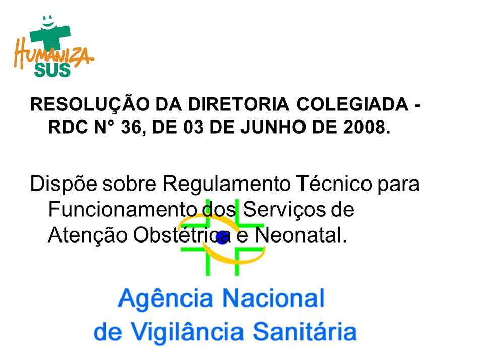 Pacto Nacional pela Redução da Mortalidade Materna e Neonatal, em 08 de março de 2004/Portaria MS/GM n.