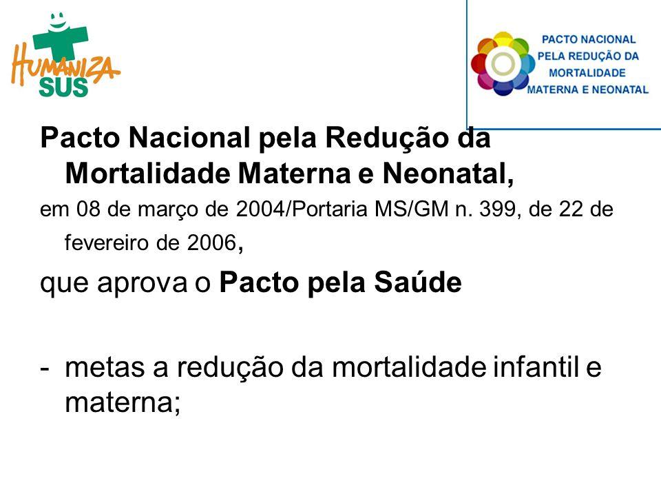 Política de Humanização do Parto e Nascimento, instituída pela Portaria GM/MS n.