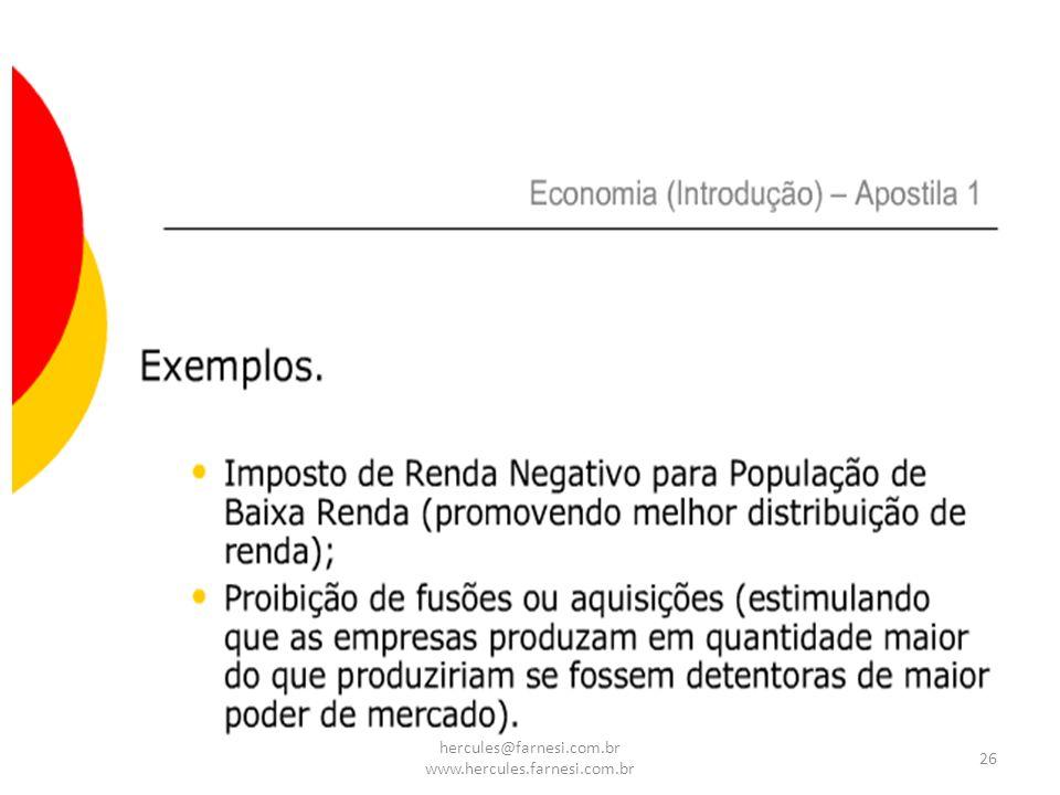26 hercules@farnesi.com.br www.hercules.farnesi.com.br