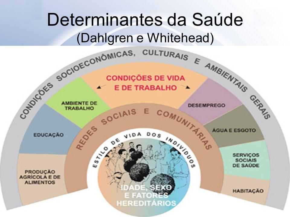 Determinantes da Saúde (Dahlgren e Whitehead)