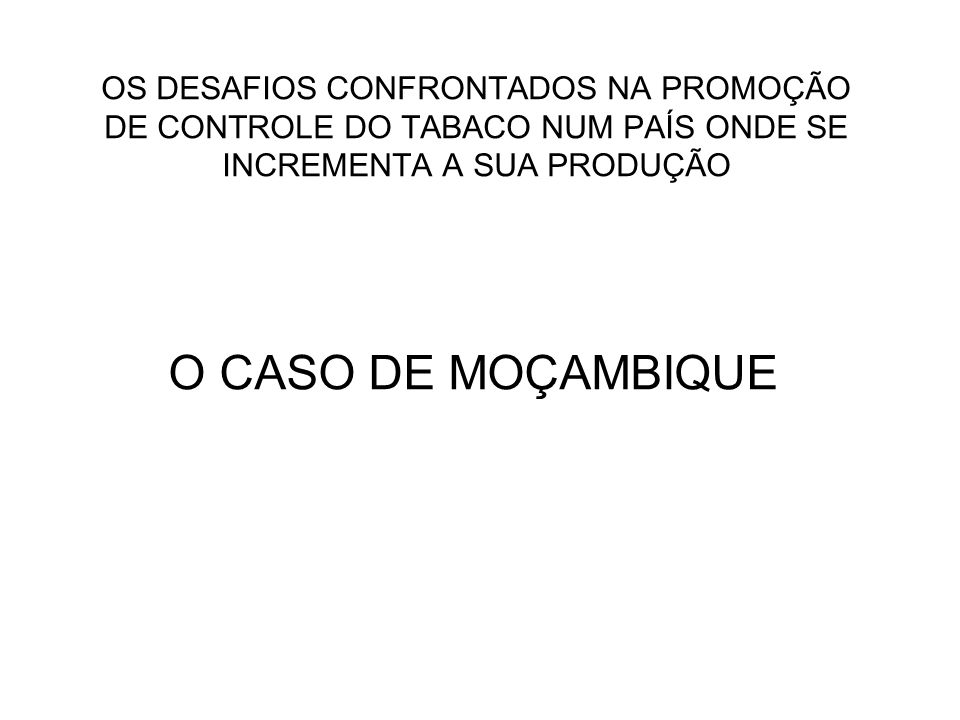 APRESENTADO POR: FRANCISCO VALENTINO CABO DIRECTOR EXECUTIVO DA AMOSAPU 24 DE AGOSTO DE 2006