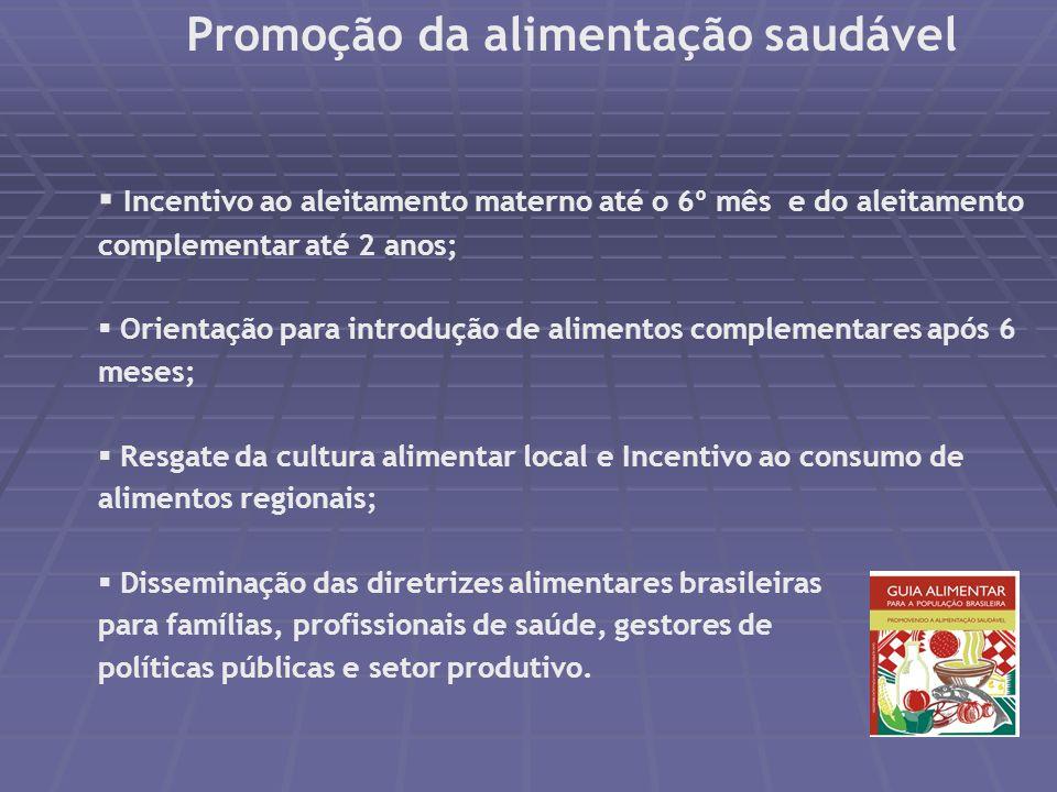 Programa Bolsa Família e Condicionalidades de Saúde Acompanhamento nutricional para gestantes, nutrizes e crianças menores de 7 anos Pré-natal Vacinaç