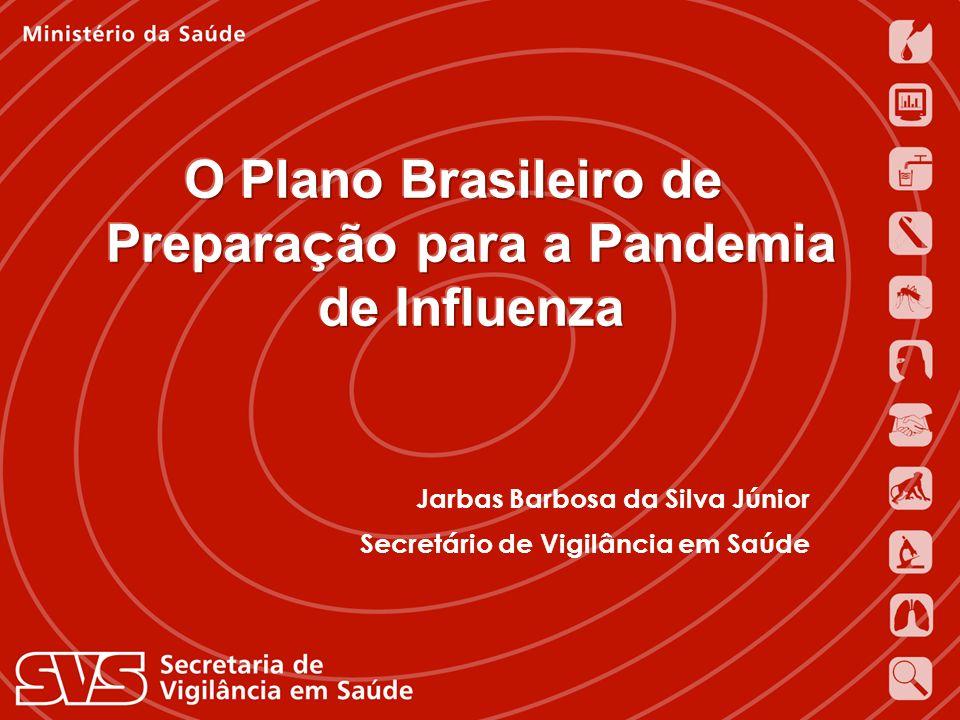 Jarbas Barbosa da Silva Júnior Secretário de Vigilância em Saúde Ministério da Saúde Jarbas Barbosa da Silva Júnior Secretário de Vigilância em Saúde