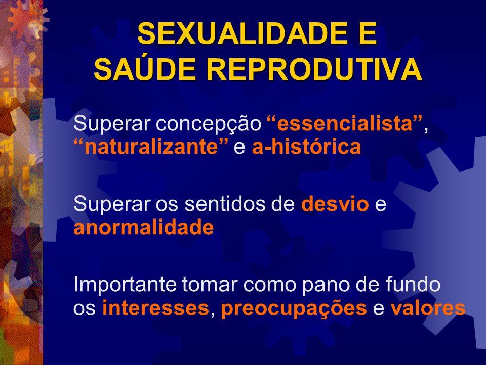 Orientação e preferência sexual Jovens do sexo feminino Práticas sexuais heterossexuais : 97% Práticas sexuais homossexuais: menos de 1% Se pudessem decidir livremente: Práticas sexuais heterossexuais: 92% Práticas sexuais homossexuais: 2% Não manteriam práticas sexuais: 2%