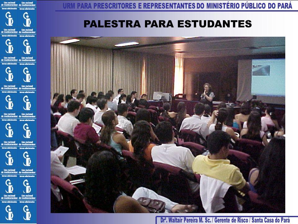 PALESTRA PARA ESTUDANTES