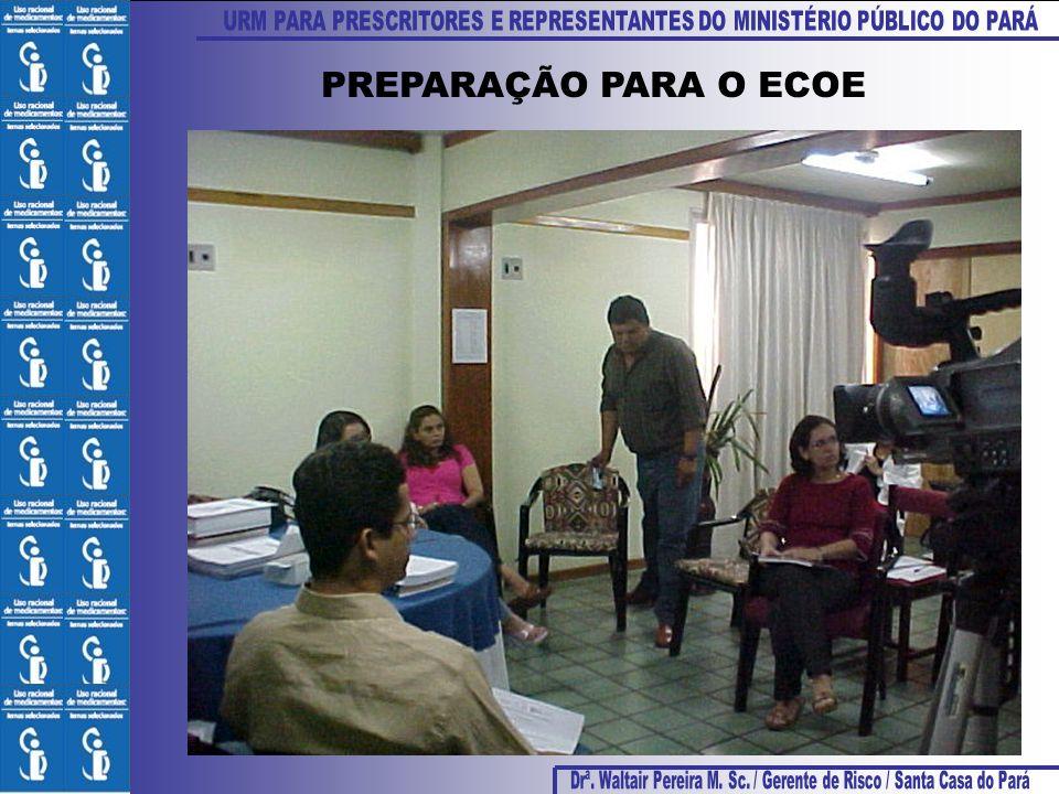 PREPARAÇÃO PARA O ECOE