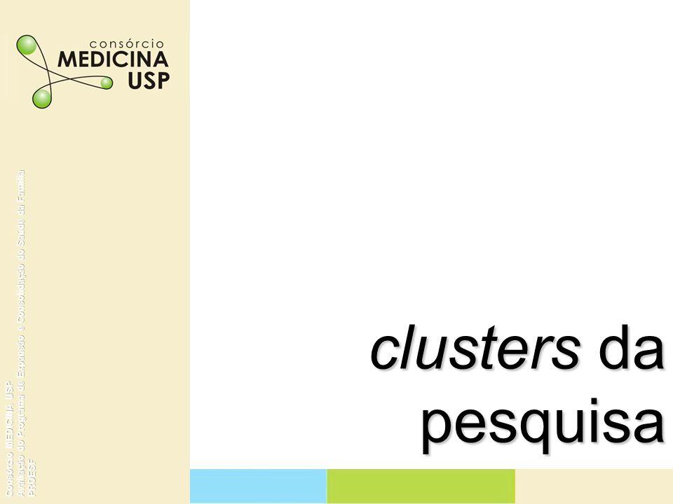 clusters da pesquisa