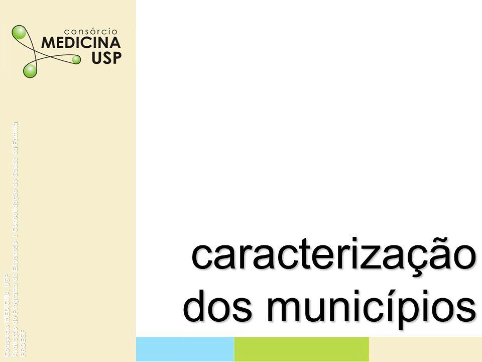 Caracterização dos Municípios Distribuição de municípios com mais de 100 mil habitantes e população residente 2003 Brasil, Região e Estado No.