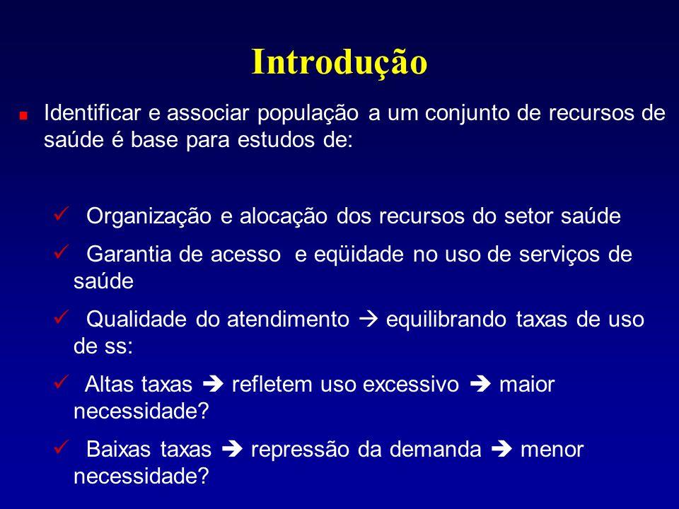 Resultados Distribuição espacial dos hospitais, internações e principais vias de acesso: Dividindo-se transversalmente o Rio maioria das internações concentradas na parte norte da cidade.