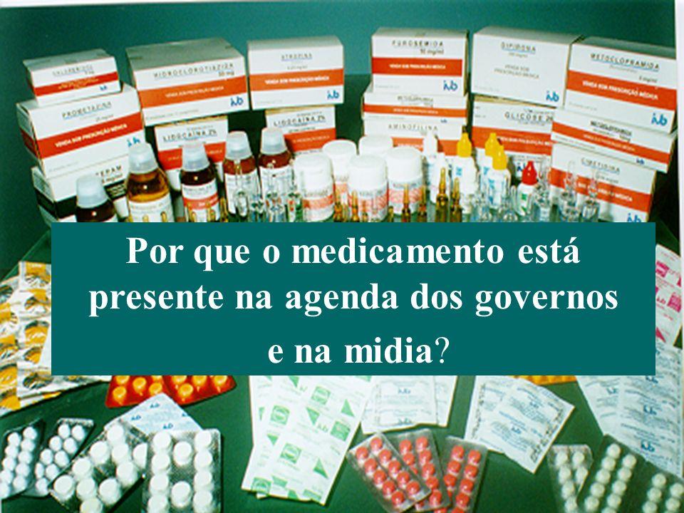 Bermudez (Agosto 2006) Organización Panamericana de la Salud 7 Por que o medicamento está presente na agenda dos governos e na midia?