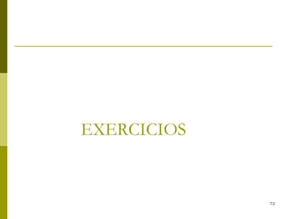 73 EXERCICIOS