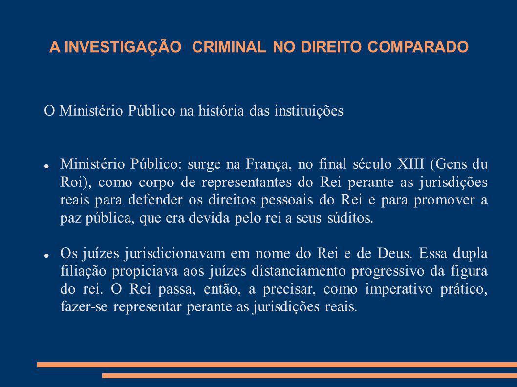 A INVESTIGAÇÃO CRIMINAL PELO MINISTÉRIO PÚBLICO EM PORTUGAL Artigo 263.º Direcção do inquérito 1 - A direcção do inquérito cabe ao Ministério Público, assistido pelos órgãos de polícia criminal.