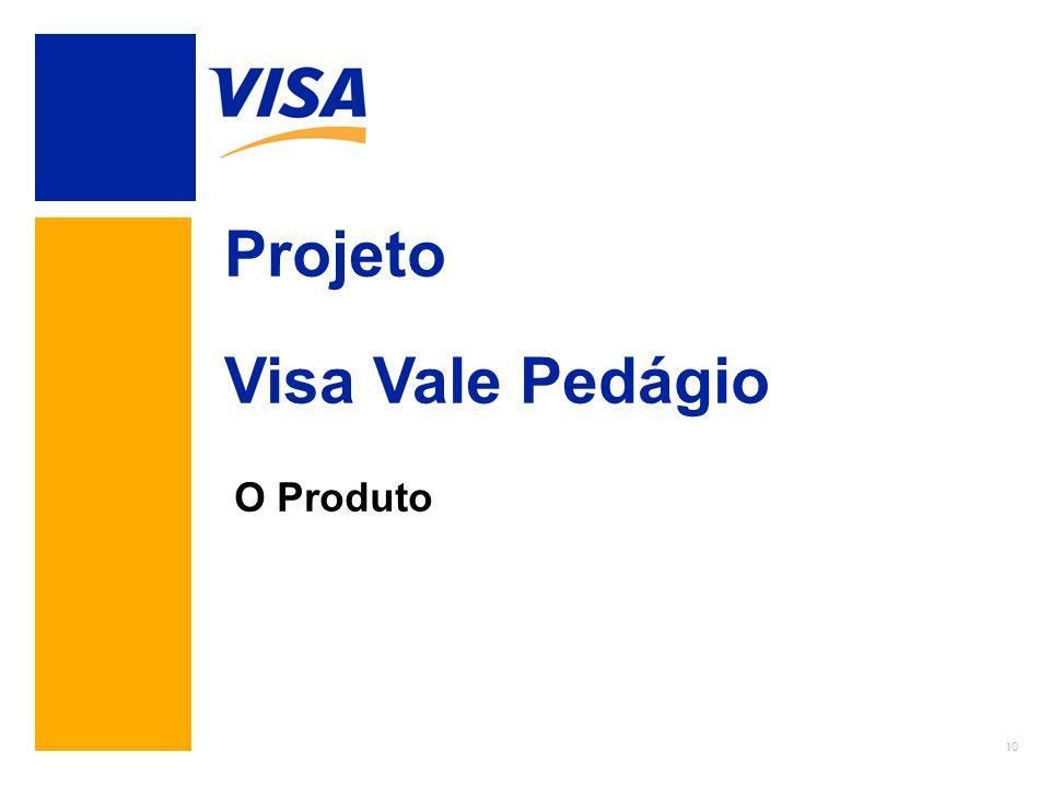 10 Projeto Visa Vale Pedágio O Produto