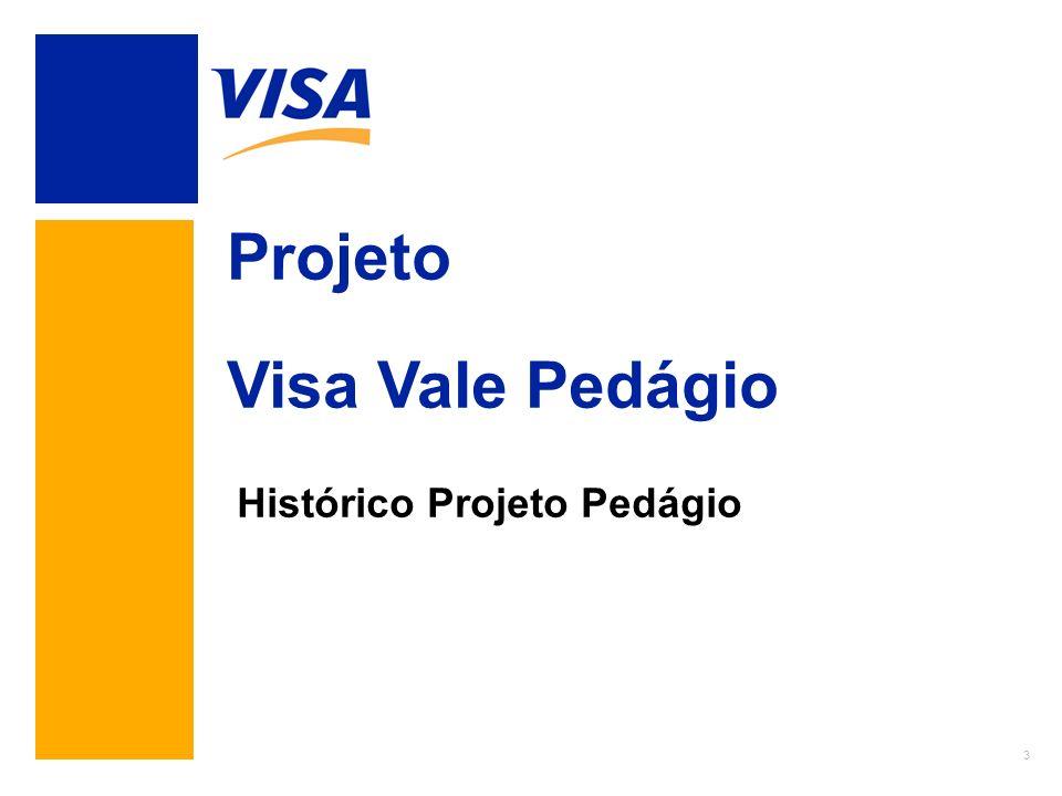 3 Projeto Visa Vale Pedágio Histórico Projeto Pedágio