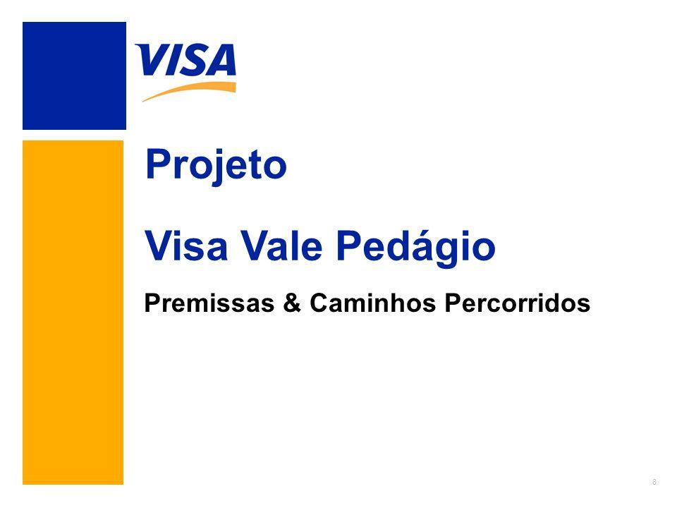 8 Projeto Visa Vale Pedágio Premissas & Caminhos Percorridos