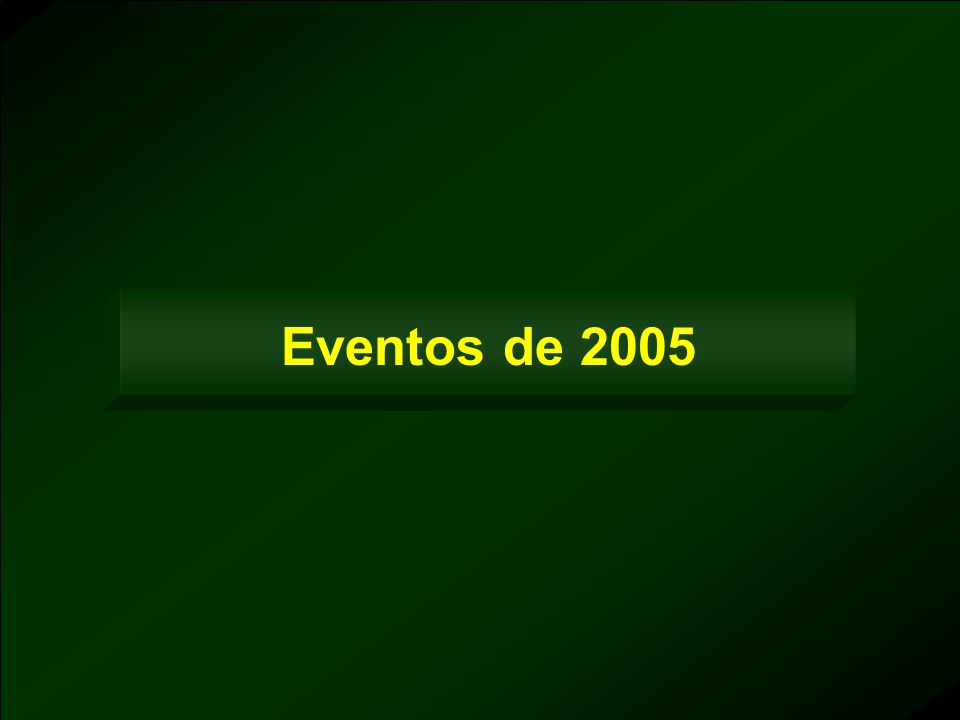 Eventos de 2005