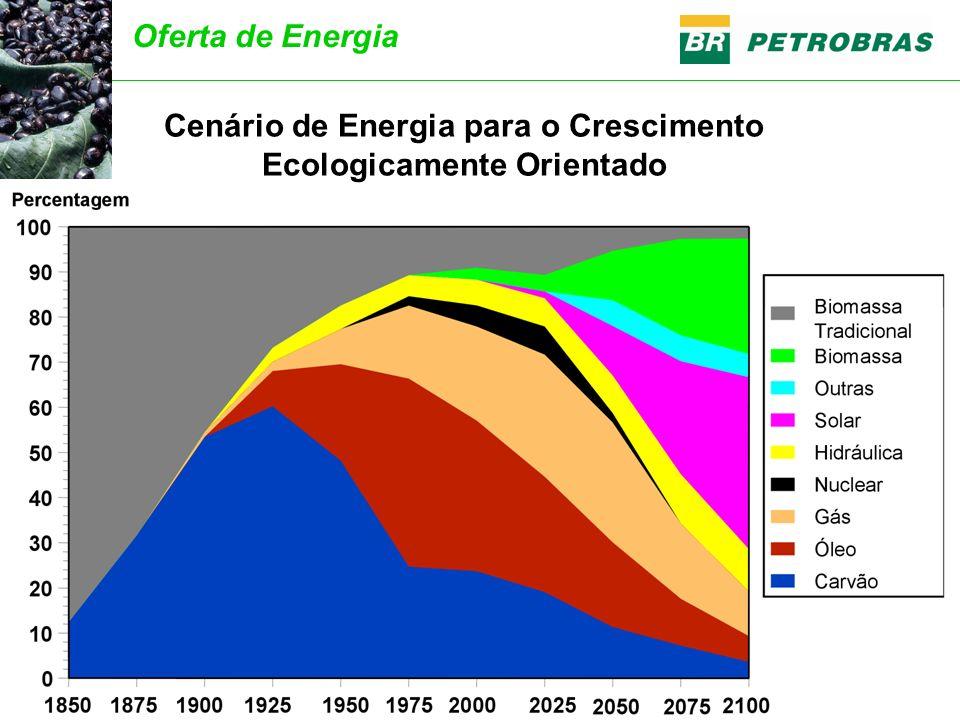 Fonte: World Energy Council Cenário de Energia para o Crescimento Ecologicamente Orientado Oferta de Energia