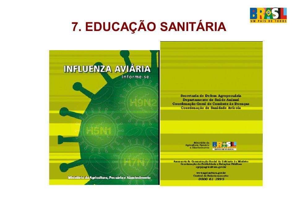 7. EDUCAÇÃO SANITÁRIA