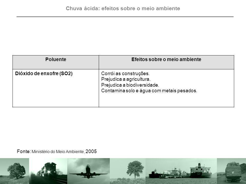 Outros poluentes: efeitos sobre à saúde humana e o meio ambiente PoluentesImpactos à saúde e ao meio ambiente PneusSeu tempo de degradação é indeterminado.