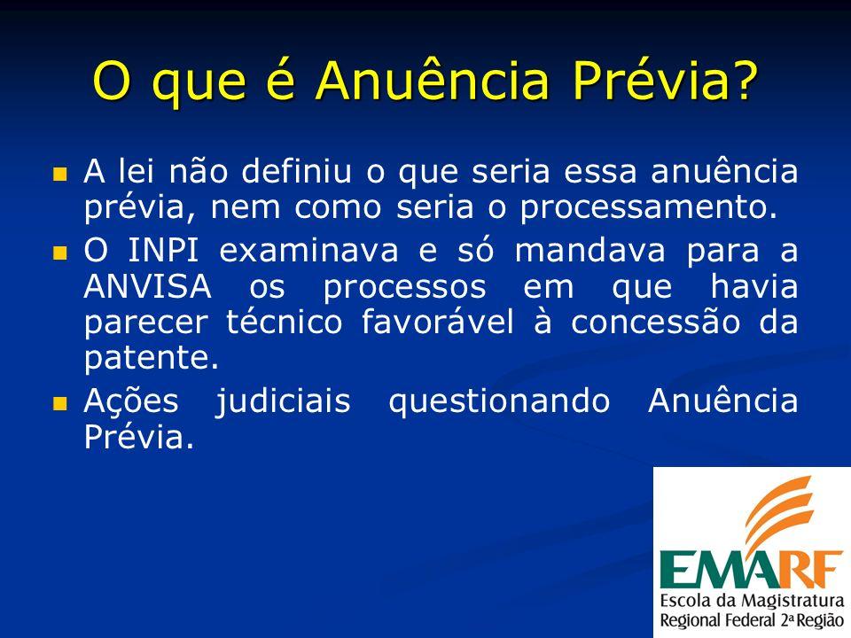 DEBATE : Se a patente origin á ria for anulada no exterior, deve a patente pipeline ser anulada no Brasil.