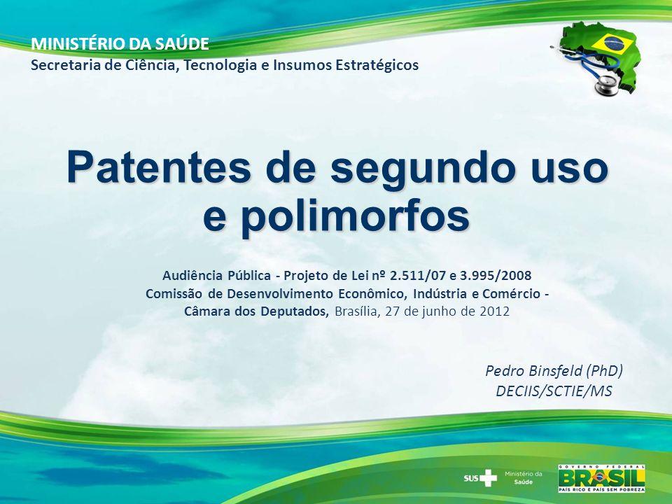 Audiência Pública - Projeto de Lei nº 2.511/07 e 3.995/2008 Comissão de Desenvolvimento Econômico, Indústria e Comércio - Câmara dos Deputados, Brasíl