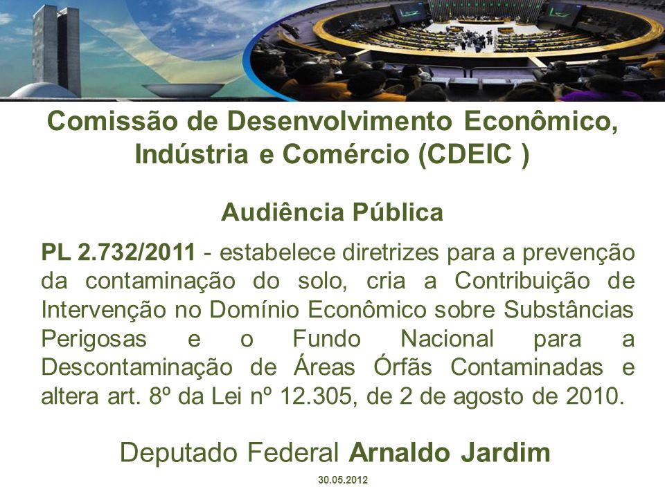 Comissão de Desenvolvimento Econômico, Indústria e Comércio (CDEIC ) Audiência Pública PL 2.732/2011 - estabelece diretrizes para a prevenção da conta