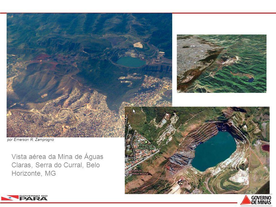 3 Vista aérea da Mina de Águas Claras, Serra do Curral, Belo Horizonte, MG por Emerson R. Zamprogno