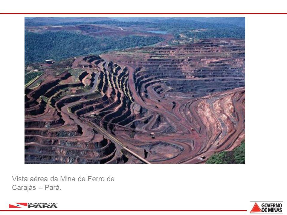 5 Vista aérea da Mina de Ferro de Carajás – Pará.