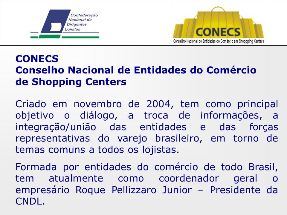 Criado em novembro de 2004, tem como principal objetivo o diálogo, a troca de informações, a integração/união das entidades e das forças representativas do varejo brasileiro, em torno de temas comuns a todos os lojistas.