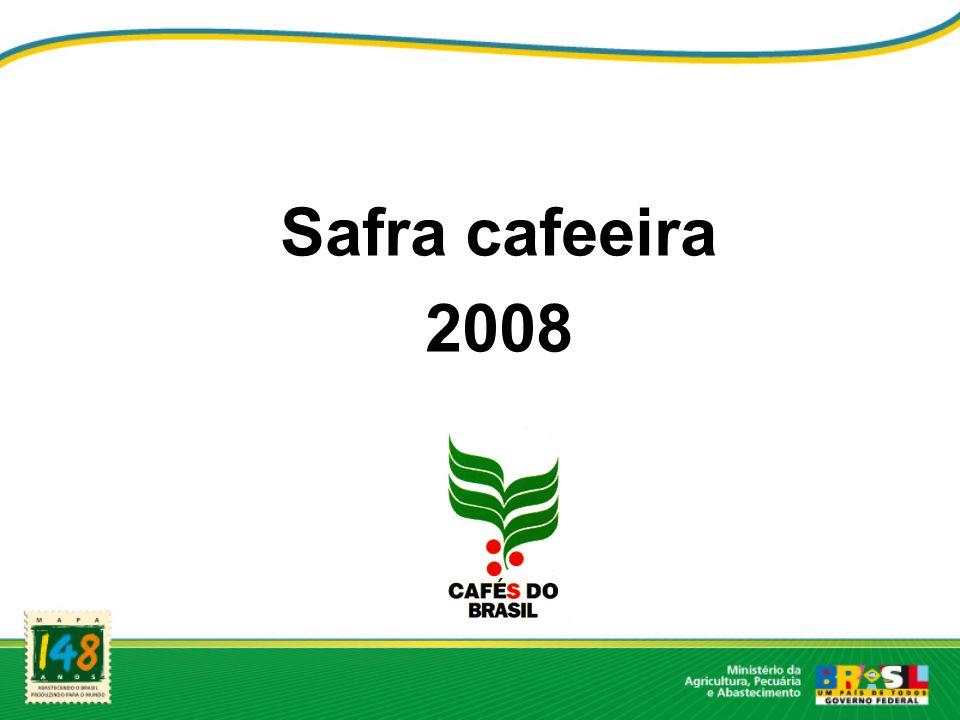 Safra cafeeira 2008