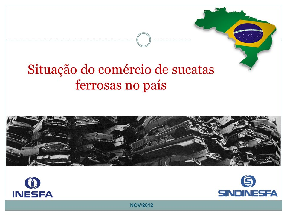 NOV/2012 Situação do comércio de sucatas ferrosas no país