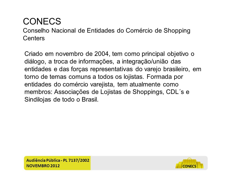 Audiência Pública - PL 7137/2002 NOVEMBRO 2012 Quem é.