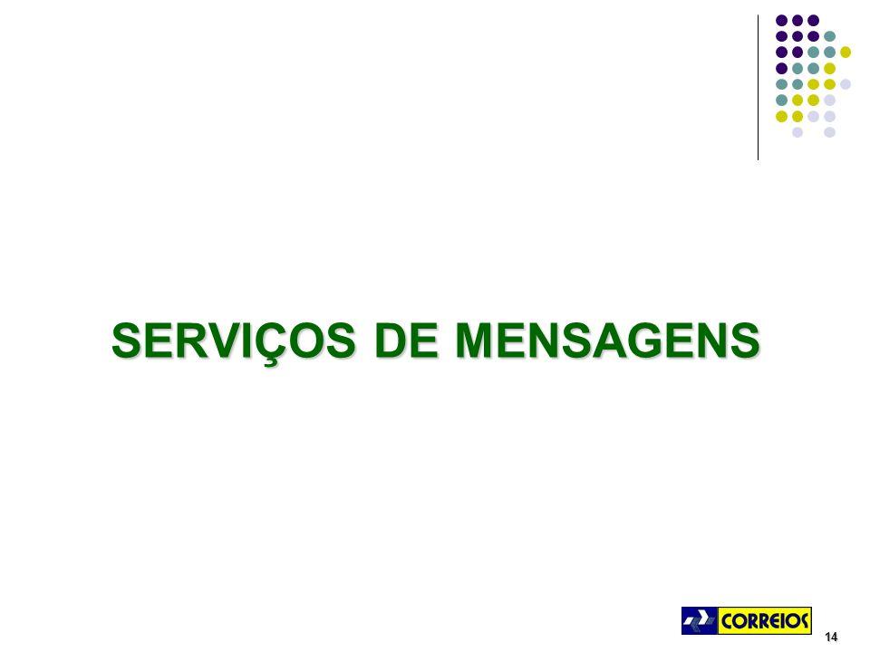 14 SERVIÇOS DE MENSAGENS