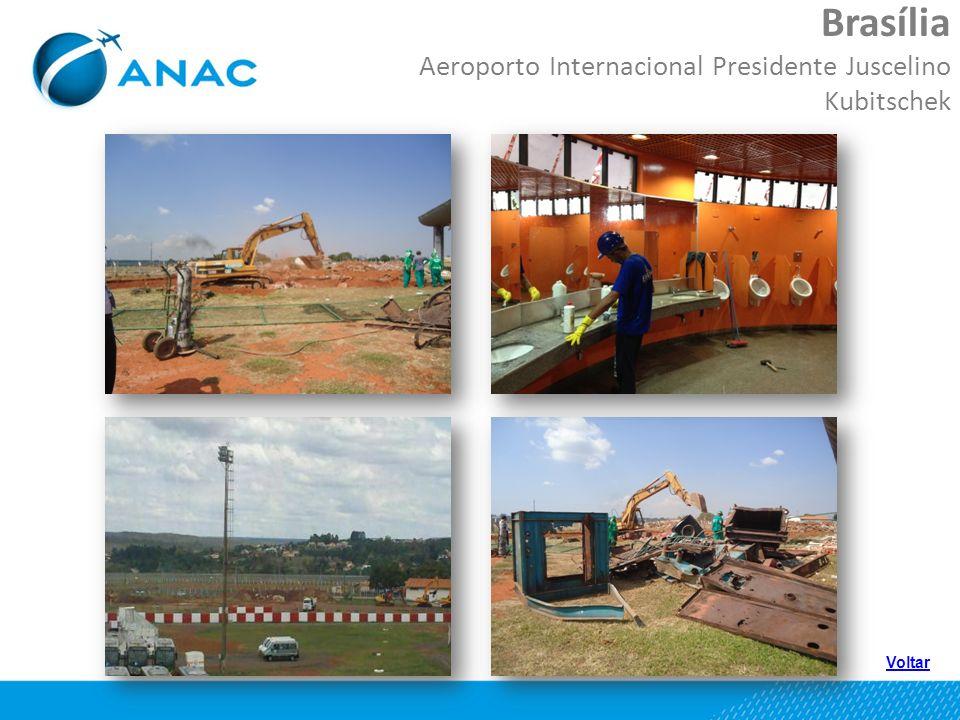 Brasília Aeroporto Internacional Presidente Juscelino Kubitschek Voltar