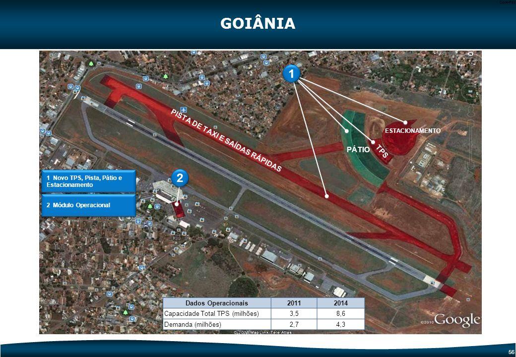 55 Code-P55 Etapa atual Descrição: Reforma e Ampliação do Terminal de Passageiros Intervenção: TPS Investimento PAC 2: R$ 68,78 mi Meta: TPS - Reforma