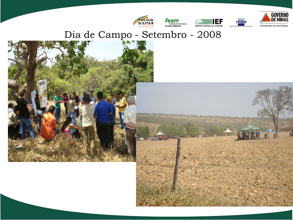 Viveiros Comunitários - Itamarandiba - 2008