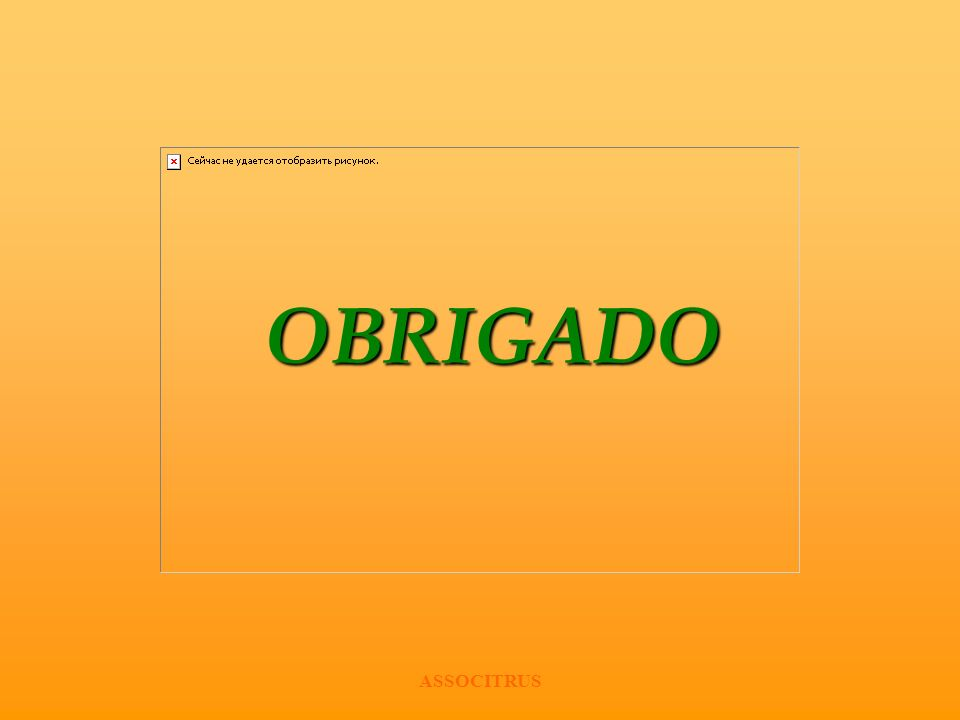 ASSOCITRUS OBRIGADO