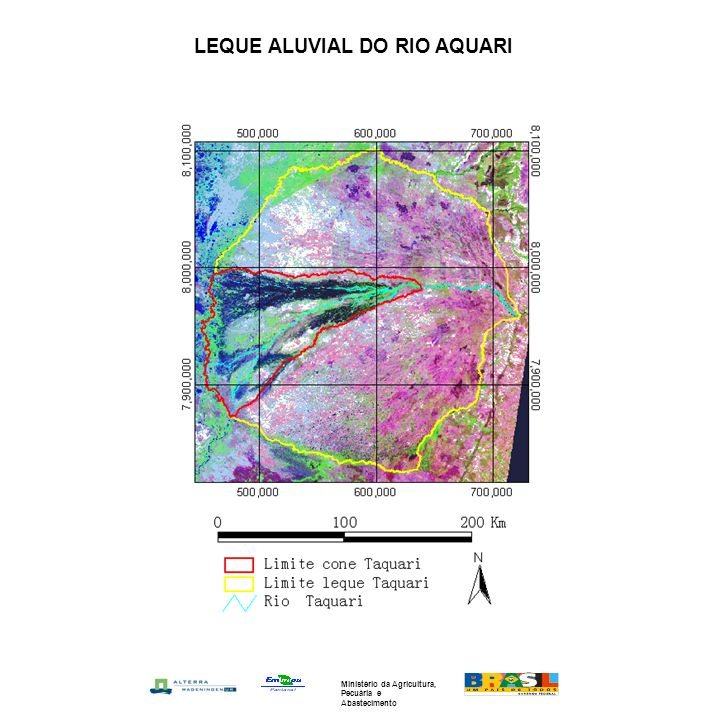 LEQUE ALUVIAL DO RIO AQUARI Ministério da Agricultura, Pecuária e Abastecimento