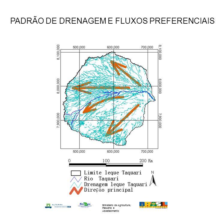PADRÃO DE DRENAGEM E FLUXOS PREFERENCIAIS Ministério da Agricultura, Pecuária e Abastecimento