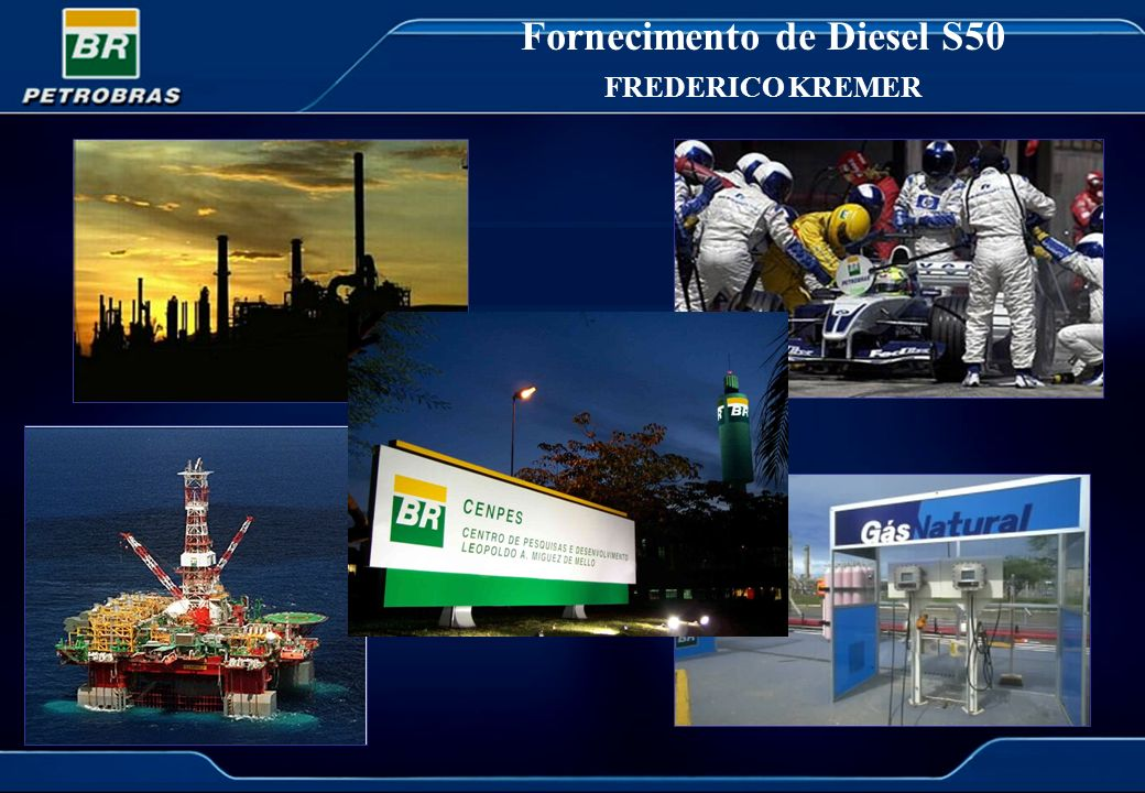 Fornecimento de Diesel S50 FREDERICO KREMER
