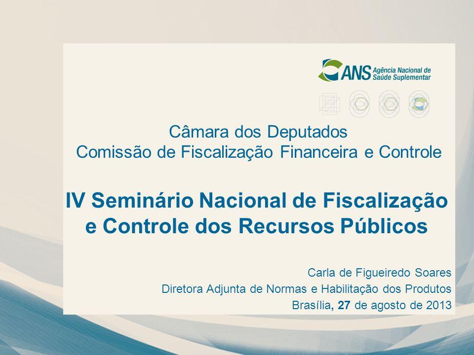 IV Seminário Nacional de Fiscalização e Controle dos Recursos Públicos Câmara dos Deputados Comissão de Fiscalização Financeira e Controle Carla de Fi