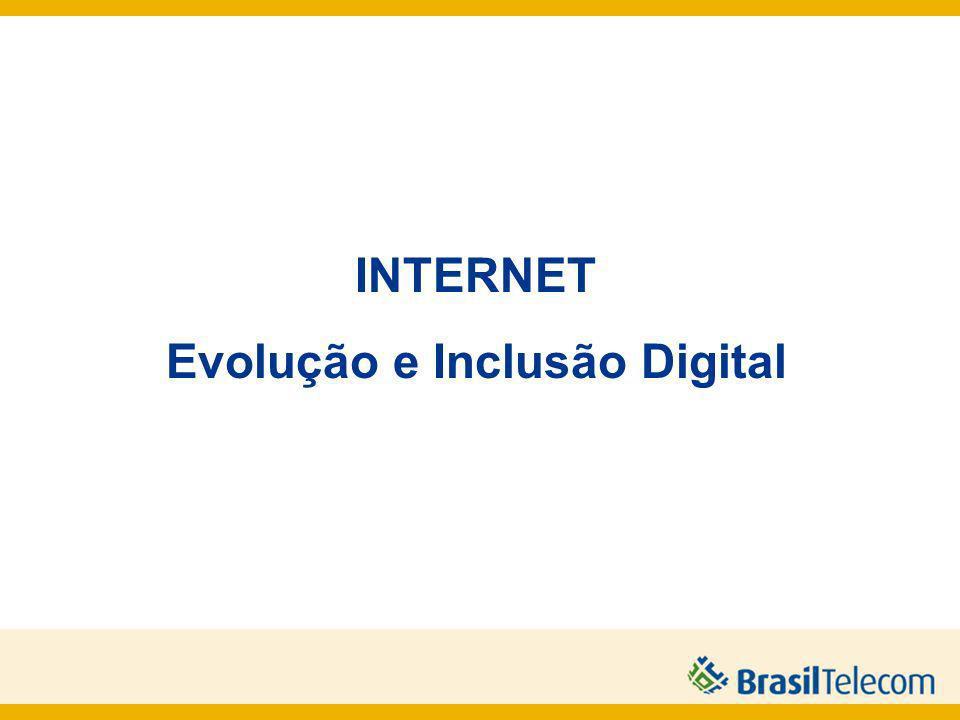 2 INTERNET Evolução e Inclusão Digital