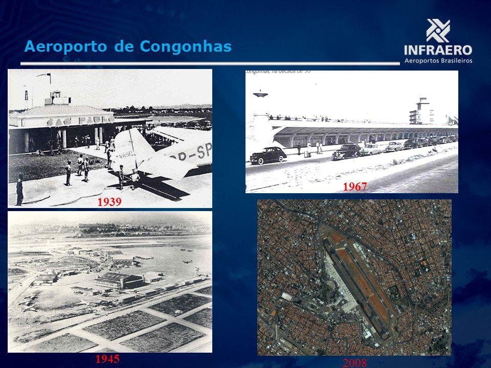Aeroporto de Congonhas 1945 2008 1967 1939