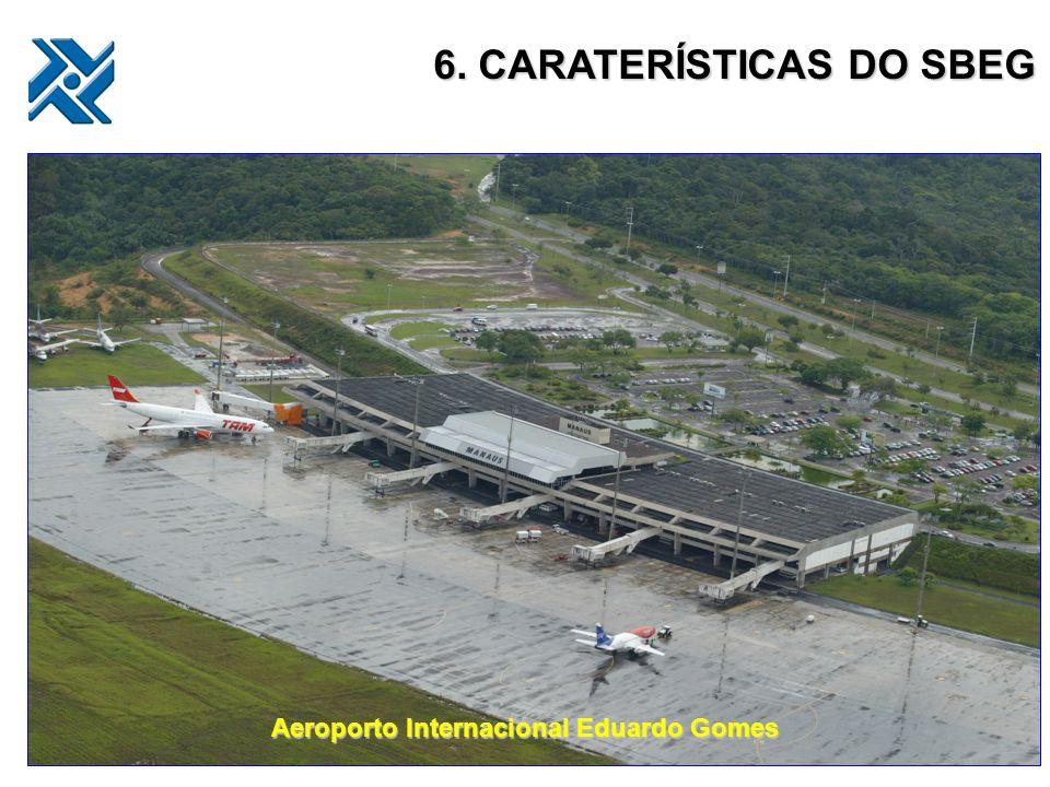 6. CARATERÍSTICAS DO SBEG Aeroporto Internacional Eduardo Gomes