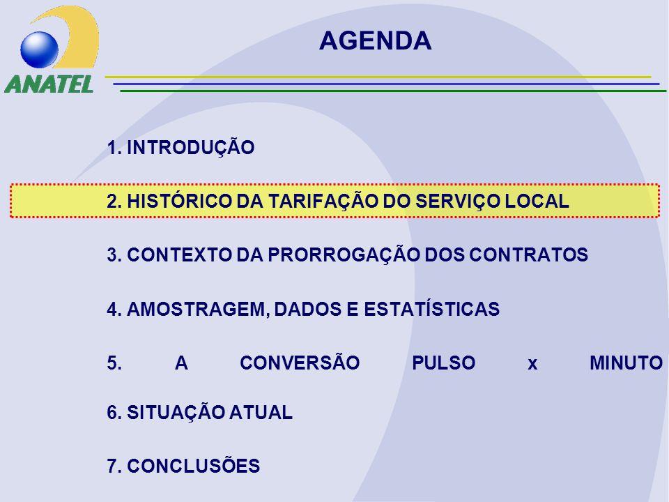 ANATEL (2005) DISTRIBUIÇÃO DE CHAMADAS