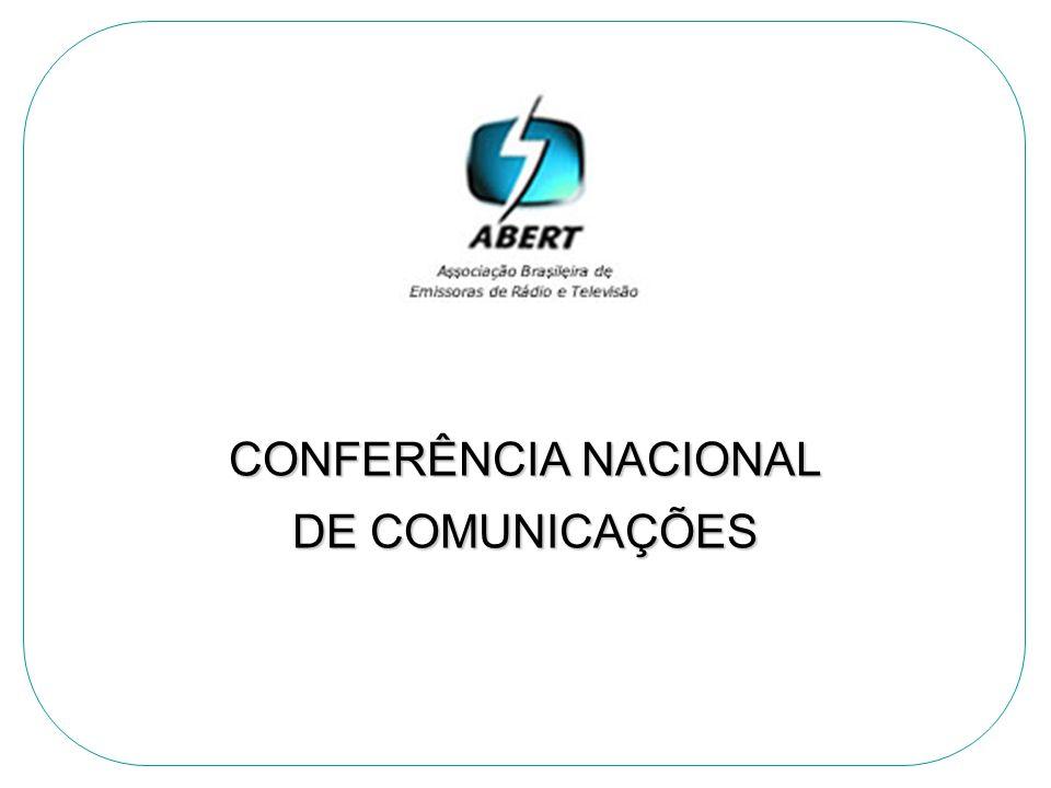 CONFERÊNCIA NACIONAL DE COMUNICAÇÕES