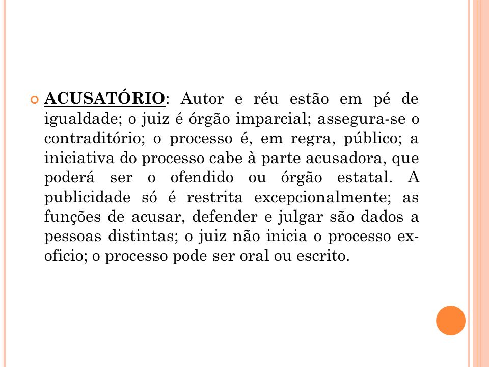Princípio da igualdade judicial Segundo o art.