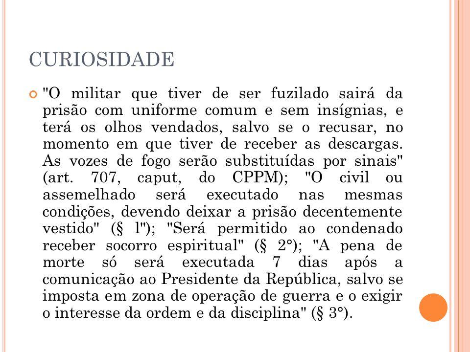 Por fim, são proibidas as penas cruéis, como, por exemplo, a serem cumpridas em regime degradante ou desumano.