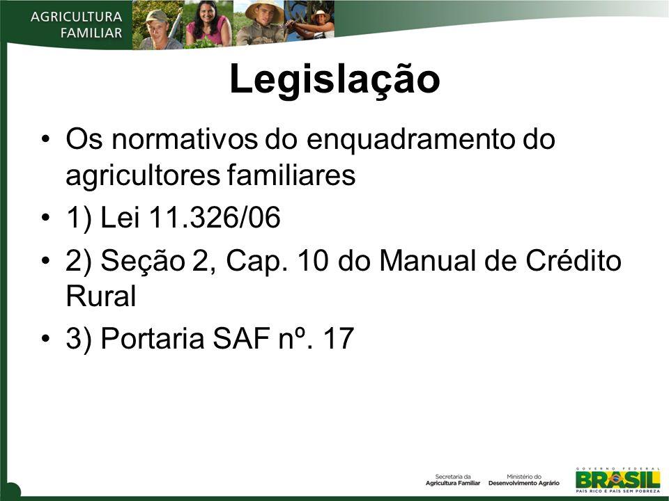 Declaração de Aptidão ao Pronaf Concepção de Unidade Familiar Documento Declaratório Entidades Credenciadas na SAF/MDA Instrumento básico para identificação do agricultor familiar – portanto, é básico para acessar as políticas públicas da agricultura familiar.